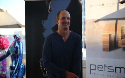 Emmy nominee Jay Martel at the DPA Emmy Awards gift lounge