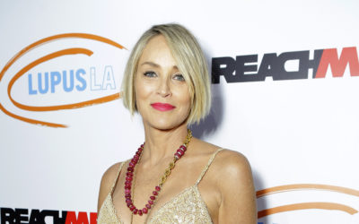 Sharon Stone at the Lupus LA Orange Ball