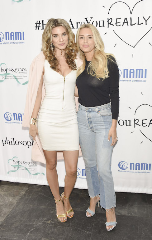 Rachel McCord and Morgan Stewart attend the Hope & Grace Luncheon in West Hollywood