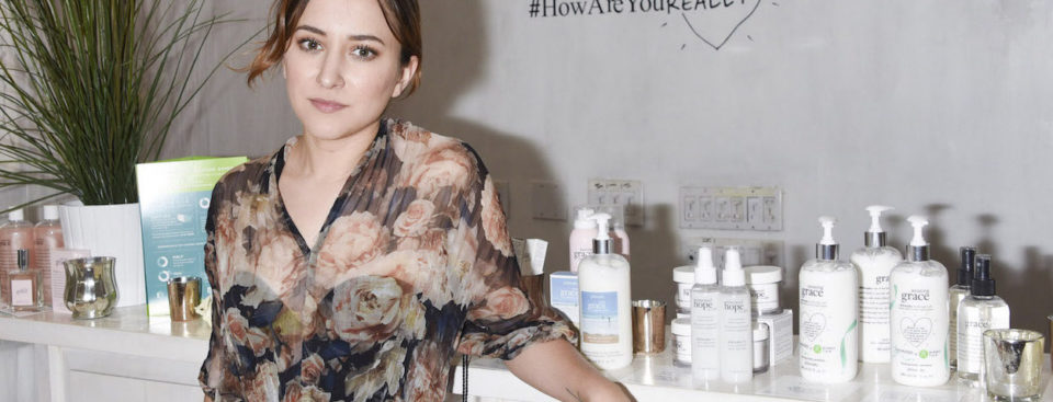 Zelda Williams Hope & Grace Luncheon