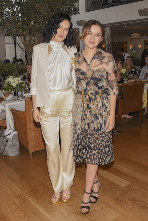 Rumer Willis and Zelda Williams at the Third Annual Hope & Grace Luncheon