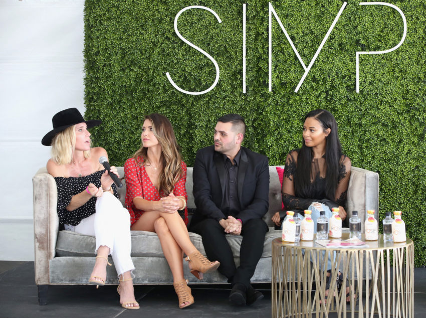 Audrina Patridge joins Michael Costello, Vanessa Simmons and Amber Farr in a panel discussion