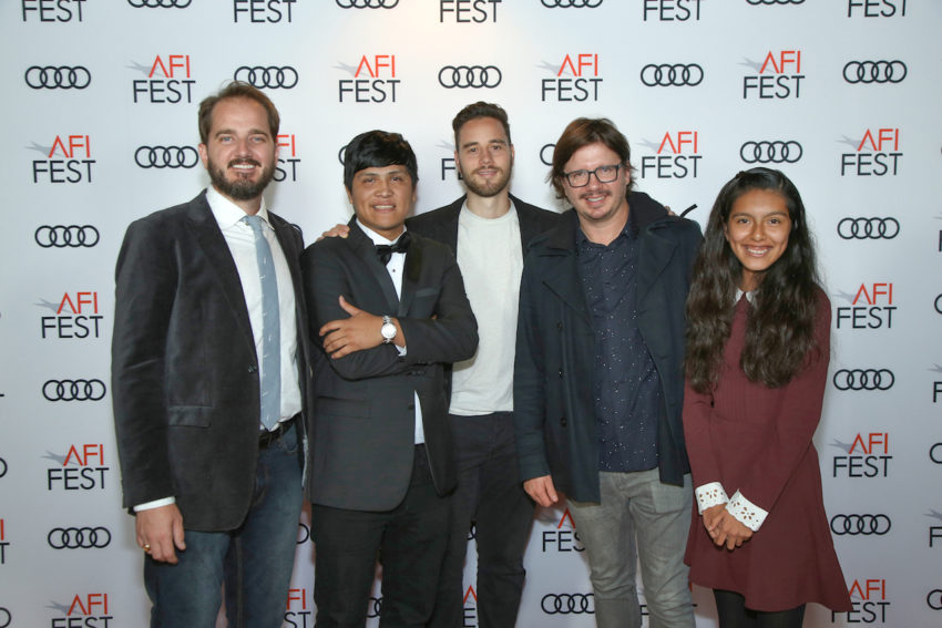Cast and Crew of The Fare at AFI Fest 2017