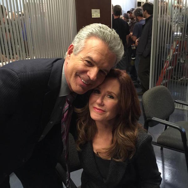 Tony Denison and Mary McDonnell